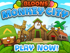 Bloons Monkey City - Bloons unblocked